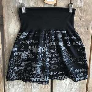 Spódnico-spodnie na lato, plażę spodnie ququ design krótkie