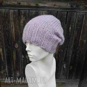 hand-made czapki 100% wool * cudny kolor
