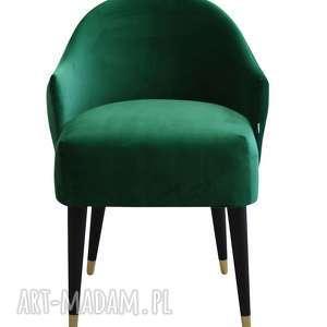 fotel emi velvet kolory, krzesło do salonu, miękki