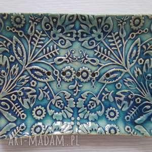 ręcznie zrobione ceramika mydelniczka ceramiczna