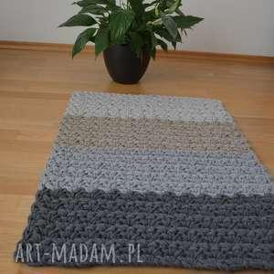 dywan ze sznurka bawełnianego podwójnie pleciony 60 cm x 85 cm, dywan
