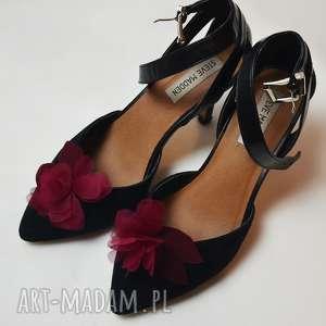 handmade ozdoby do butów klipsy do butów
