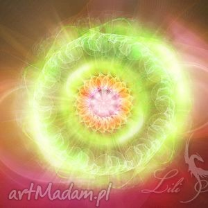 obraz energetyczny - czakra serca płótno, obraz, ezoteryczny