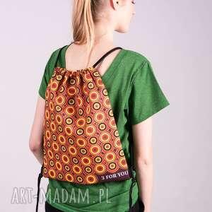 plecako-worek/kolorowy, worek, spodnie, sukienka, torba, bluza, kurtka