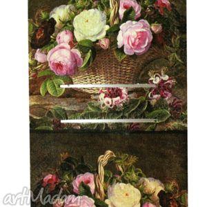 dom barolowa martwa natura, kalendarz, barok, róże, pod choinkę prezent