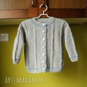 Sweterek Kokardki , sweterek, rękodzieło, włóczka, dziecko