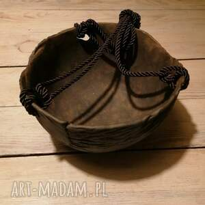 misa ceramiczna - skoljka mali, misa, do zawieszenia, doniczka, miska, donica