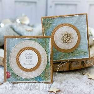 Prezent święta! Podarek świąteczny - mini kartka, pudełeczko boże