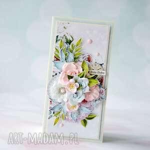 ty i ja - w dniu ślubu kartka ręcznie robiona, scrapbooking kartki, ślub