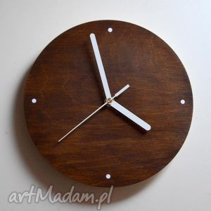 zegar wood clock, zegar, drewniany, prezent, dom, drewno, vintage