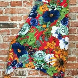 hand made spodnie flower spodnie