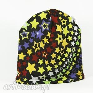 ciepła czapka droga mleczna - ciepła, czapka, gwiazdy
