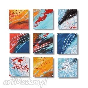 abstrakcja w92, nowoczesny obraz ręcznie malowany, abstrakcja, nowoczesny,