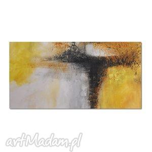 Abstrakcja YBW2, nowoczesny obraz ręcznie malowany, obraz, nowoczesny,