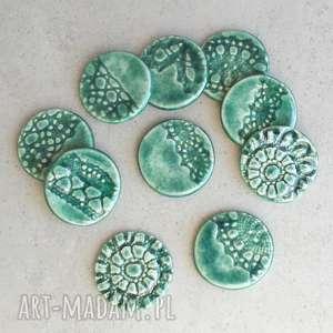 magnesy zestaw magnesów, ceramika, magnes, kuchnia, lodówka, rustic, folk, święta
