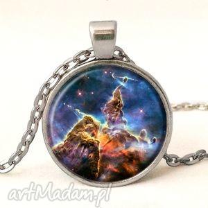 nebula - medalion z łańcuszkiem egginegg - naszyjnik, prezent