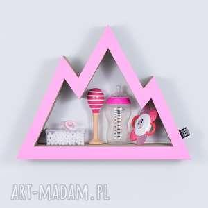 pokoik dziecka półka na książki zabawki góry ecoono różowy, półka, chłopiec