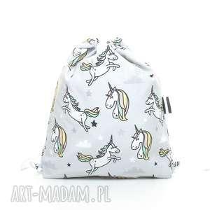 plecak worek przedszkolaka jednorożce