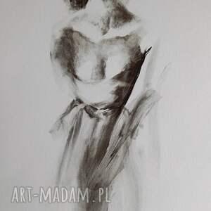 galeria alina louka woman 100x70, obraz do salonu, zmysłowy obraz, grafika