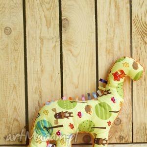 minky and cotton mięciutki dinozaur - bawełna las, minky, maskotka, zabawka