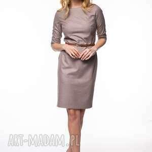 Sukienka mirna sukienki pawel kuzik wełniana, ołówkowa