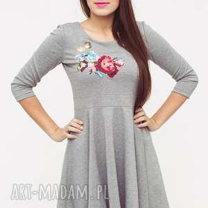 sukienki sukienka love dress floral 09 r