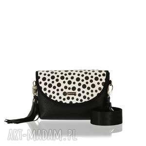 handmade torebki torebka puro smart 2428 black polka dots