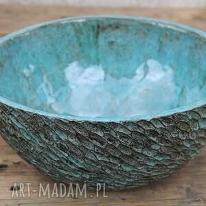 umywalka ręcznie robiona, ceramiczna umywalka, polska ceramika