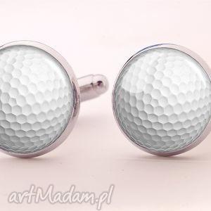 piłka golfowa - spinki do mankietów egginegg - ślubne, sportowe