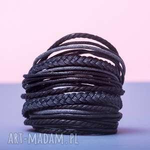 whw big mess - dark feeling ii, sznurkowa, sznureczkowa, zwijana, ciemna