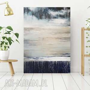 Abstrakcja-obraz akrylowy formatu 50 70 cm paulina lebida obraz