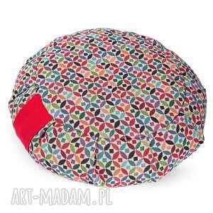 poduszka do medytacji zafu tworky - z gryką, joga, medytacja, pufa