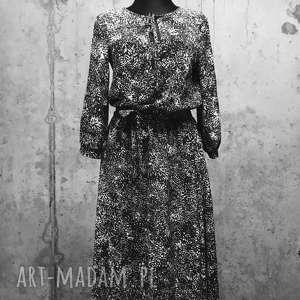Pióropusz nieba-sukienka, boho-sukienka, etno-sukienka, elegancka-sukienka