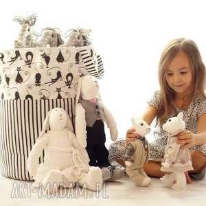 kosz pojemnik organizer worek na zabawki klocki poŚciel - kosz, organizer, klocki