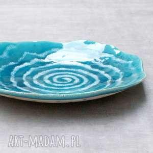 święta, patera ceramiczna, patera, misa, motywy morskie, podróże, na stół