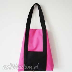 Weekend bag na ramię czarnaowsianka weekend, bag, xl, worek,