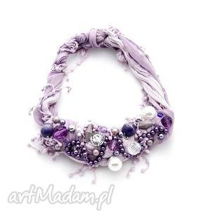 ręcznie robione naszyjniki lilla naszyjnik handmade