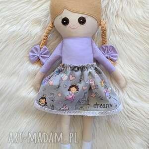 szmacianka z personalizacją, szmaciana lalka w princessy, szmacianka