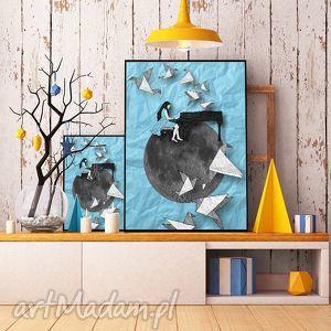 art print... 30x40 cm., ilustracja, pianistka, plakat, obraz, a3