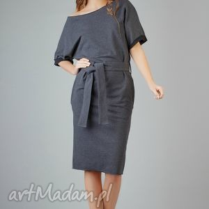sukienki sukienka aleksandra 9, elegancka, wygodna, midi, modna, luźna, kimono