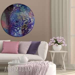 krajobraz księżycowy 22, księżyc, wszechświat, planeta, ziemia, tondo