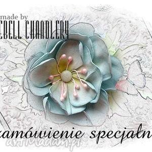 Zamówienie dla pani edyty scrapbooking kartki bluebell chandlery