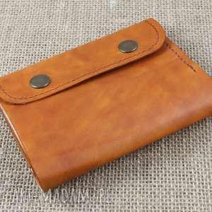 handmade portfele skórzany portfel