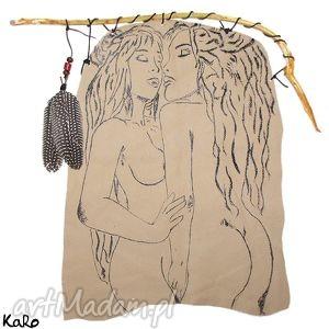 obraz one na skórze, obraz, skóra, akt, kobiety, fantasy, prezent dom