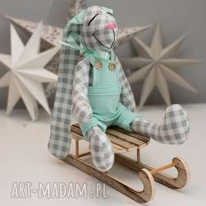 Królik z imieniem personalizacja zabawki artshoplalashop