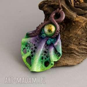 Prezent Kolorowy wisior inspirowany rafą koralową, rafakoralowa, wisior, naszyjnik