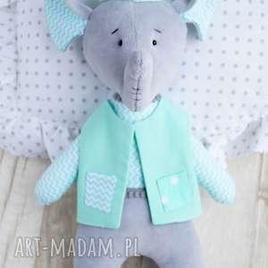 słonik przytulanka - wyprawka, miś, dziecko, zabawka, prezent