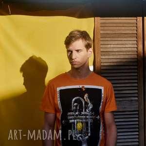bluzka z plakatem jazz jamboree, jazz, t shirt, męska, plakat, bluzka, trąbka