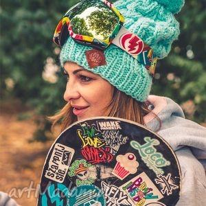 handmade czapki business instinct! aqua fitness