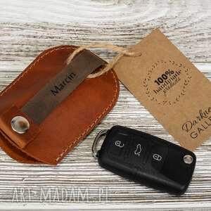 breloki skórzany brelok etui na kluczyki samochodowe, klucze, skórzane